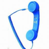 Wholesale Handset for mobile phones, LED light indication, volume control and answering/hanging-up button from china suppliers