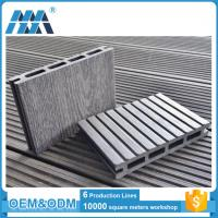 Wholesale Eco-friendly High Quality Interlocking outdoor deck tiles WPC DIY Flooring from china suppliers