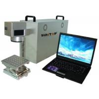 China Portable Fiber Laser Marking Machine , Fiber Laser Etching Machine for Metal / Plastic on sale