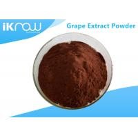 China Antioxidation 95% Grape Extract Powder CAS 84929 27 1 Reddish Brown Powder for sale