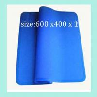 Quality fashionable silicone dinner pads ,square shape silicone table mats for sale