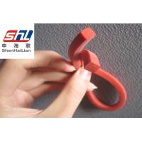 Wholesale Red Stable Extruded Silicone Rubber Seal Strip , UV Resistance from china suppliers