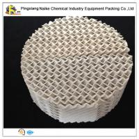 China High-efficiency X and Y type ceramic structured packing for fining and distillation on sale