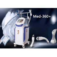 Wholesale Vertical Machine 4 Handles Powerful Cryolipolysis Vacuum RF Face Lifting Body Slimming Equipment from china suppliers