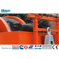 Quality 2x80kN Cummins Hydraulic Cable Tensioner Transmission Line Stringing Equipment for sale