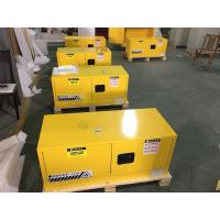 China Steel Flammable Safety Cabinets With Double Doors For Hazardous Material Storage for sale