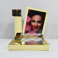 Wholesale LED Acrylic Perfume Retail POS Displays With Gold Magnetic Levitation from china suppliers
