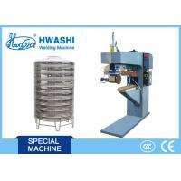 China Hotel Solar Water Tank Vertical Arc Welding Machine Automatic on sale