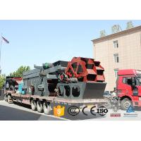 Wholesale Flexible Mobile Crushing Equipment Custom Design With Vibrating Screen from china suppliers