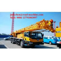 Buy cheap Shangchai Engine Euro 2 Telescopic Boom Crane QY25K-II , 25 Ton Mobile Truck from wholesalers