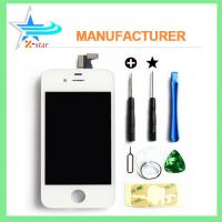 Wholesale For iPhone 4 Black LCD Display with Touch Digitizer Screen Glass Assembly from china suppliers