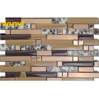 Wholesale Golden Stainless Sea Shell Mosaic Tile For Living Room Wall Decoration from china suppliers