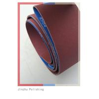 Wholesale Low Noise Custom Sanding Belts , Abrasive Cloth Belt With Small Dust from china suppliers