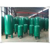 Wholesale Stable Pressure Air Compressor Receiver Tank , Air Compressor Vertical Storage Tank from china suppliers