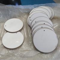 Buy cheap High Corrosion Resistant Ultrasound Piezoelectric Ceramic Discs For Medical Care from wholesalers