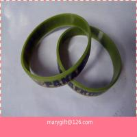 PANAMA printed army silicone bracelet for sale