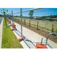 Wholesale Australia Standard Temporary Construction Fence Galvanized Welded Wire Mesh For Festivals from china suppliers