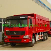 Wholesale Heavy Duty Dump Truck SINOTRUK HOWO Tipper Truck Various Color 6 X 4 on sale from china suppliers