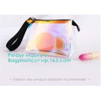Wholesale Custom Logo Shiny Holographic Cosmetic Bag Sets,Cosmetic Makeup Bag,Cosmetic Bag Travel,Fashion Accessories Holographic from china suppliers
