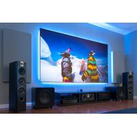 Buy cheap 16/9 Zero Edge Fixed Frame Screen Anti - Light Projection Screen For Home Cinema from wholesalers