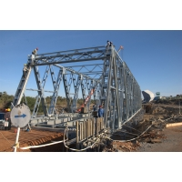 Wholesale Galvanized Prefabricated Steel Harzone Truss Girder Bridge from china suppliers