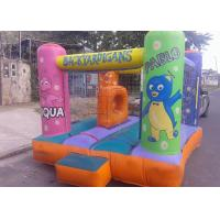 Wholesale Mini Safety Commercial Jumping Castles With Net / Kids Bounce House Games from china suppliers