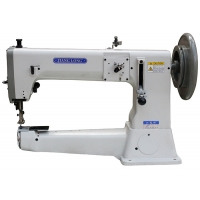 Wholesale Single Needle 420*210mm 12mm Stitch Heavy Duty Sewing Machine from china suppliers