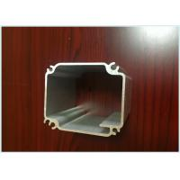 White / Champagne Anodized Aluminum Profiles For Lightweight Car Body