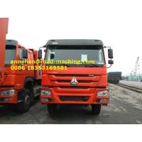 Wholesale Orange Color 10tires Mining Industry Heavy Duty Dump Truck 336HP 6X4 RHD 30 Ton from china suppliers