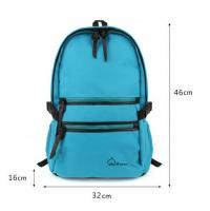 pro canvas shoulder bag backpack schoolbag Korean college fashion bag