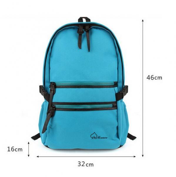 Quality pro canvas shoulder bag backpack schoolbag Korean college fashion bag for sale