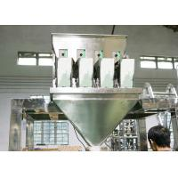 Buy cheap SS Material Packing Machine Accessories Multiheads Weigher 4 Heads from wholesalers