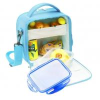Wholesale Picnic Cooler Childrens Lunch Bags Sky Blue Color 600D Nylon from china suppliers