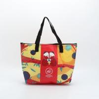 Wholesale Customized Non - Woven Laminated Tote Bags Pouch Beach Bag With Zipper from china suppliers