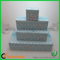 Quality cupcake cake boxes for 1-24 cupcake, standard size,CMYK or Pantong color for sale