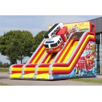Wholesale Double Lane Brandweer Commercial Inflatable Slide Waterproof Inflatable Castle Slide from china suppliers