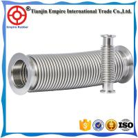 Wholesale Big diameter 304 or 316 stainless steel corrugated pipe hose flexible Metal bellows from china suppliers