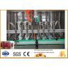 1500 bottles Beverage Processing Plant , Jam Production Line Per Hour for sale