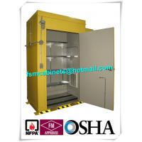 Wholesale Hazardous Waste Storage Buildings Chemical Locker For Gas Cylinder / Oil Drum from china suppliers