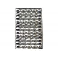 Heavy Duty Walkway Channel Grip Strut Perforated Metal Plank Grating 5 Diamonds for sale