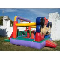 Wholesale Customized Mickey Mouse Inflatable Bounce House Moonwalk Bouncers With Logo Printing from china suppliers