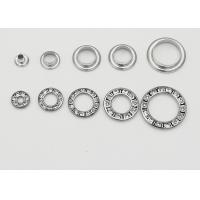 Wholesale Round Metal Eyelet Rings With Rhinestone , Copper Grommets Eyelets Elegant from china suppliers