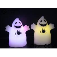 Wholesale Cute Ghost Shaped Halloween Led Candles Paraffin Wax Material HL-009 from china suppliers