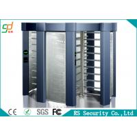 Wholesale Inter Lock IC Card Full Height Turnstile Cross Controlled Access Turnstiles from china suppliers