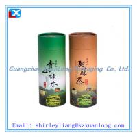 Wholesale round paper packing tea can wholesale from china suppliers