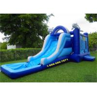 Wholesale Mini Backyard Inflatable Water Slides / Amusement Park Water Slide And Bouncer from china suppliers