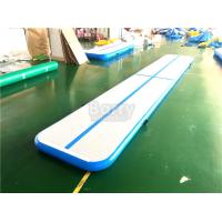 Wholesale 5m , 6m ,10m ,12m Water Floating Inflatable Air Track For Gym Outdoor Or Indoor from china suppliers
