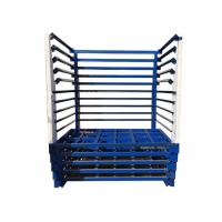 China Durable Textile Warehouse Stacking Storage Rack For Fabric Roll Stillage for sale