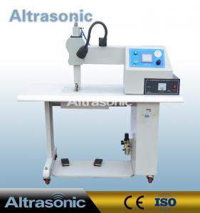 Wholesale Seamless Ultrasonic Sealing Machine For Non Woven Fabric , Ultrasonic Sealer Machine from china suppliers