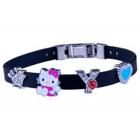China Adjustable Silicone Wristband Bracelet for sale